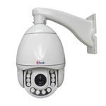 D Series IR waterproof high speed Network PTZ Camera
