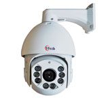 D Series IR waterproof high speed dome camera